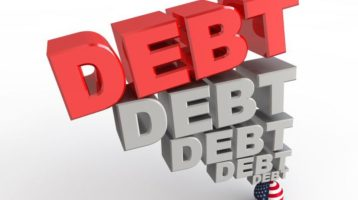 debt piled