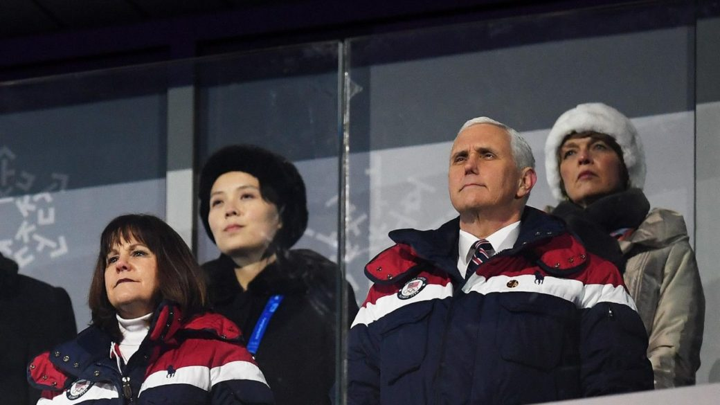 VP Pence at olympics