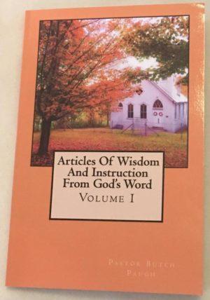 Pastor Butch-book