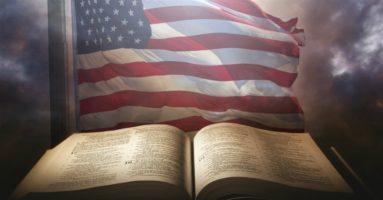 Bible & American Flag
