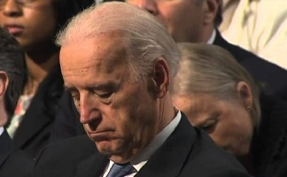 Biden sleeps