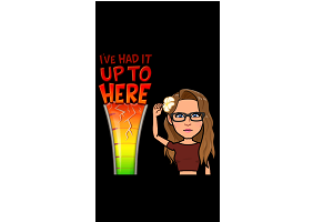 up to here bitmoji
